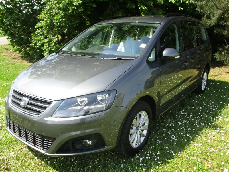 seat alhambra 7 places style plus 2 0 tdi 150 cv v hicules neufs. Black Bedroom Furniture Sets. Home Design Ideas